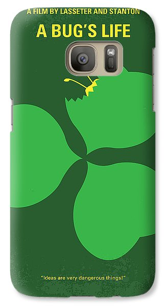 No401 My A Bugs Life Minimal Movie Poster Galaxy S7 Case by Chungkong Art