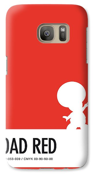 Daisy Galaxy S7 Case - No41 My Minimal Color Code Poster Toad by Chungkong Art