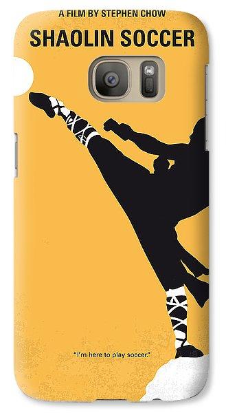 No480 My Shaolin Soccer Minimal Movie Poster Galaxy S7 Case