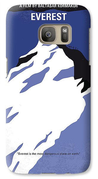 Robin Galaxy S7 Case - No492 My Everest Minimal Movie Poster by Chungkong Art
