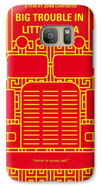 Magician Galaxy S7 Case - No515 My Big Trouble In Little China Minimal Movie Poster by Chungkong Art