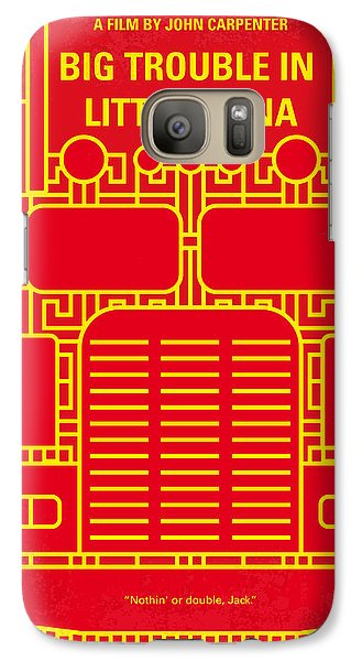 Truck Galaxy S7 Case - No515 My Big Trouble In Little China Minimal Movie Poster by Chungkong Art