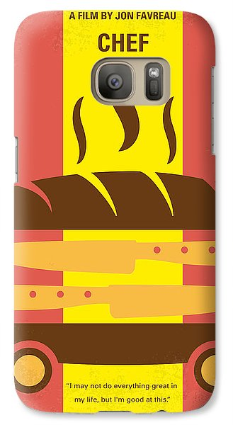 Truck Galaxy S7 Case - No524 My Chef Minimal Movie Poster by Chungkong Art