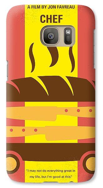 No524 My Chef Minimal Movie Poster Galaxy Case by Chungkong Art