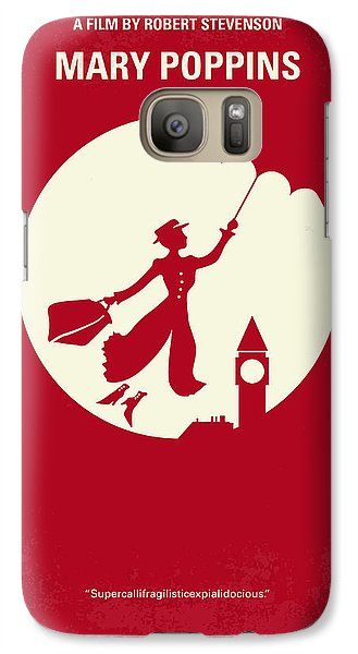 No539 My Mary Poppins Minimal Movie Poster Galaxy S7 Case by Chungkong Art