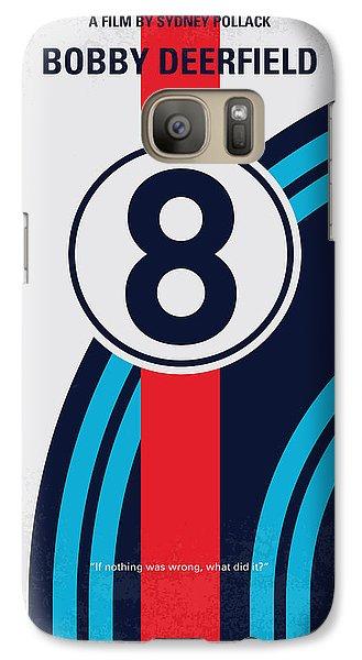 Martini Galaxy S7 Case - No565 My Bobby Deerfield Minimal Movie Poster by Chungkong Art