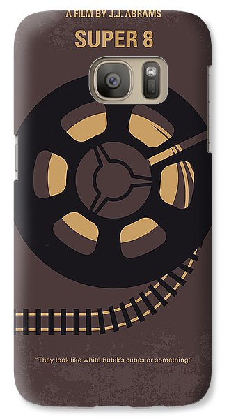 Aliens Galaxy S7 Case - No578 My Super 8 Minimal Movie Poster by Chungkong Art