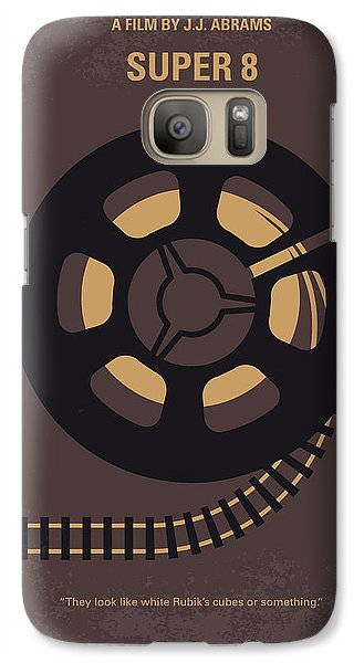 Truck Galaxy S7 Case - No578 My Super 8 Minimal Movie Poster by Chungkong Art