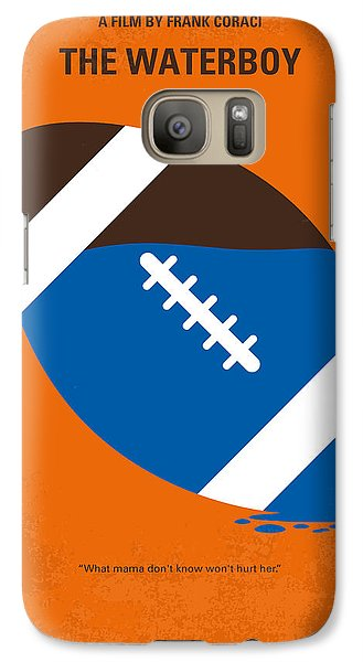 No580 My The Waterboy Minimal Movie Poster Galaxy S7 Case