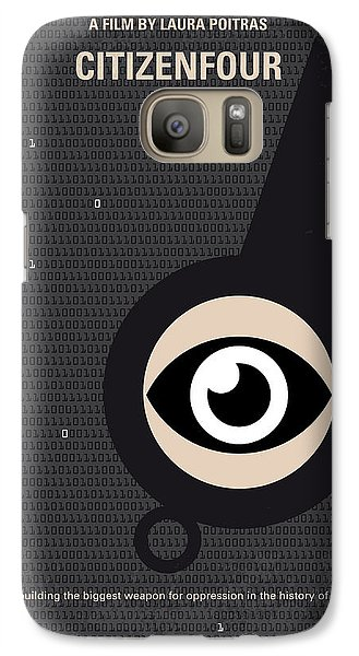 No598 My Citizenfour Minimal Movie Poster Galaxy S7 Case by Chungkong Art