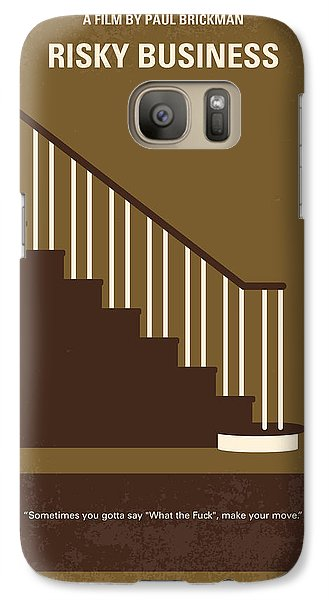 No615 My Risky Business Minimal Movie Poster Galaxy S7 Case