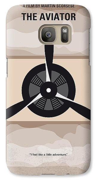 No618 My The Aviator Minimal Movie Poster Galaxy S7 Case