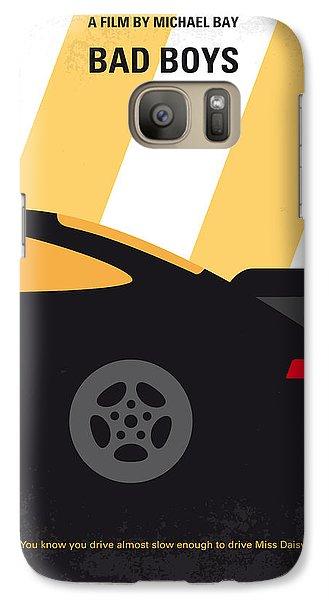 No627 My Bad Boys Minimal Movie Poster Galaxy Case by Chungkong Art