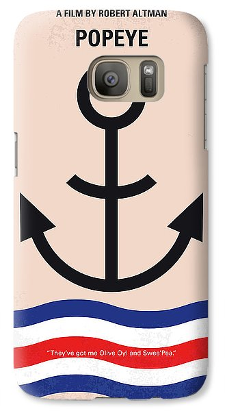 No648 My Popeye Minimal Movie Poster Galaxy S7 Case