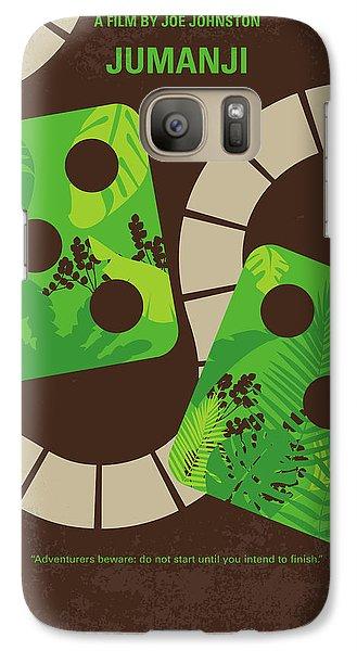 Robin Galaxy S7 Case - No653 My Jumanji Minimal Movie Poster by Chungkong Art