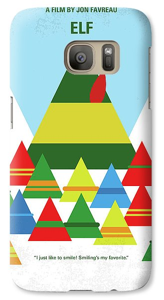 Elf Galaxy S7 Case - No699 My Elf Minimal Movie Poster by Chungkong Art