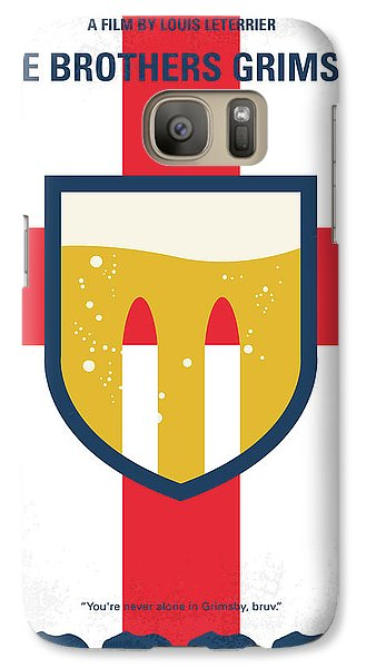 Galaxy Case featuring the digital art No741 My Grimsby Minimal Movie Poster by Chungkong Art