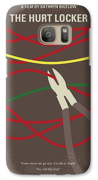 Galaxy Case featuring the digital art No746 My The Hurt Locker Minimal Movie Poster by Chungkong Art