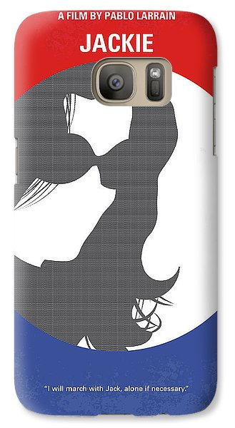 Galaxy Case featuring the digital art No755 My Jackie Minimal Movie Poster by Chungkong Art