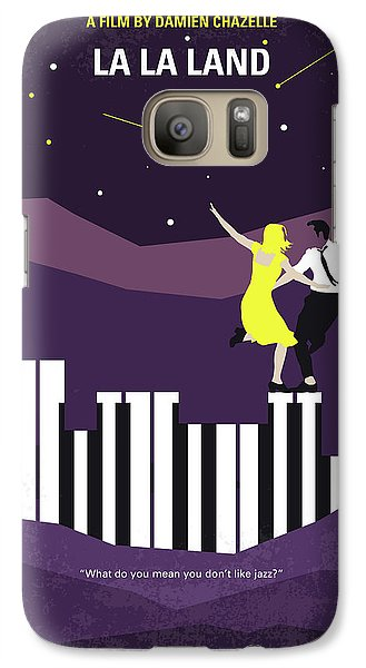 Jazz Galaxy S7 Case - No756 My La La Land Minimal Movie Poster by Chungkong Art