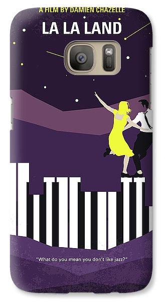 No756 My La La Land Minimal Movie Poster Galaxy S7 Case