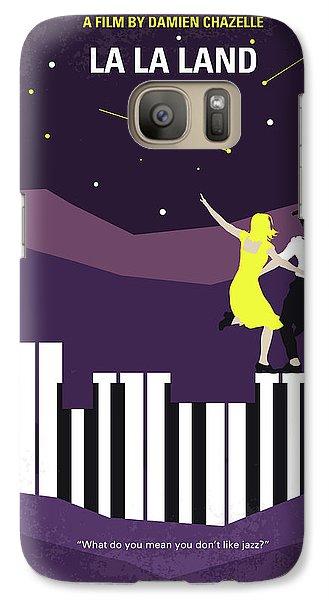 Jazz Galaxy S7 Case - No756 My La La Land Minimal Movie Poster by Chungkong Art