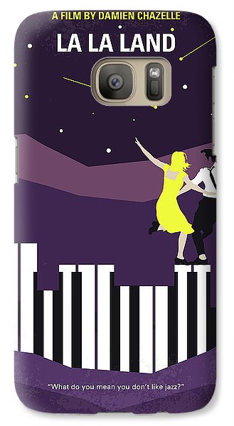 No756 My La La Land Minimal Movie Poster Galaxy S7 Case by Chungkong Art