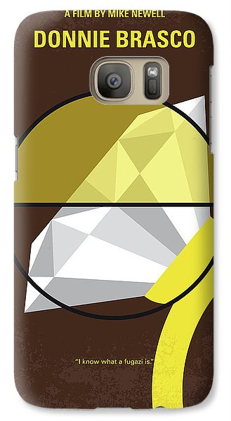 No766 My Donnie Brasco Minimal Movie Poster Galaxy S7 Case by Chungkong Art