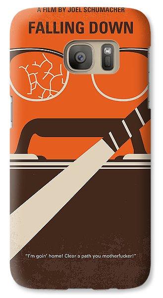 Baseball Bats Galaxy S7 Case - No768 My Falling Down Minimal Movie Poster by Chungkong Art