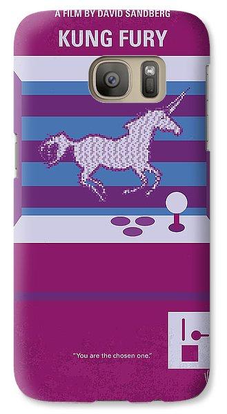 No770 My Kung Fury Minimal Movie Poster Galaxy S7 Case