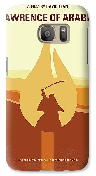 Galaxy Case featuring the digital art No772 My Lawrence Of Arabia Minimal Movie Poster by Chungkong Art
