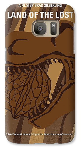Galaxy Case featuring the digital art No773 My Land Of The Lost Minimal Movie Poster by Chungkong Art