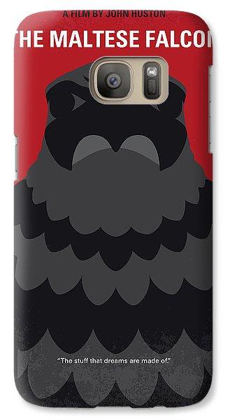 No780 My The Maltese Falcon Minimal Movie Poster Galaxy S7 Case