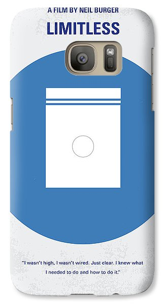 Wizard Galaxy S7 Case - No828 My Limitless Minimal Movie Poster by Chungkong Art