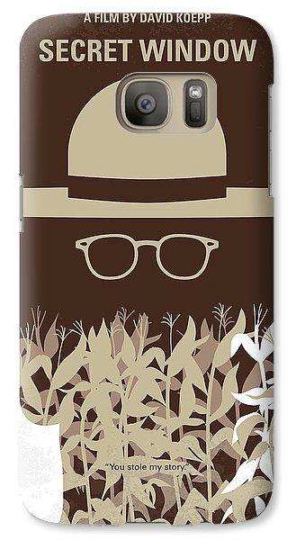 No830 My Secret Window Minimal Movie Poster Galaxy S7 Case