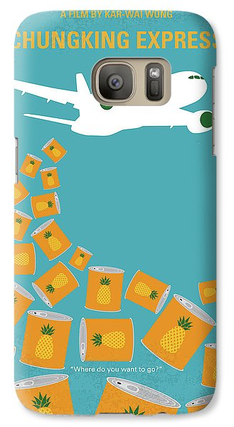 No835 My Chungking Express Minimal Movie Poster Galaxy S7 Case