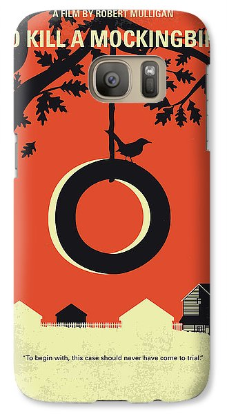 Mockingbird Galaxy S7 Case - No844 My To Kill A Mockingbird Minimal Movie Poster by Chungkong Art
