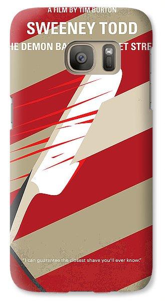 No849 My Sweeney Todd Minimal Movie Poster Galaxy S7 Case