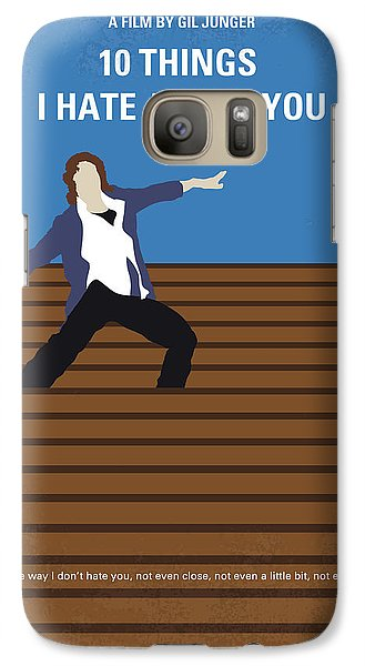 No850 My 10 Things I Hate About You Minimal Movie Poster Galaxy S7 Case