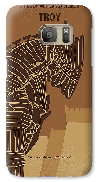 Orlando Bloom Galaxy S7 Case - No862 My Troy Minimal Movie Poster by Chungkong Art