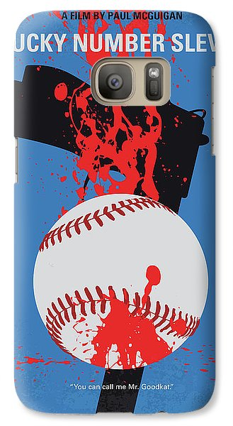 Fairy Galaxy S7 Case - No880 My Lucky Number Slevin Minimal Movie Poster by Chungkong Art