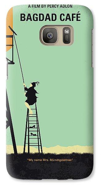 Magician Galaxy S7 Case - No964 My Bagdad Cafe Minimal Movie Poster by Chungkong Art