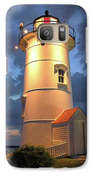 Galaxy Case featuring the photograph Nobska Point Lighthouse by Roupen  Baker