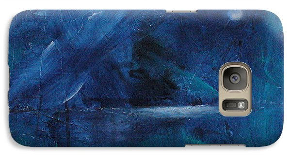 Galaxy Case featuring the painting Nocturne by Mary Sullivan
