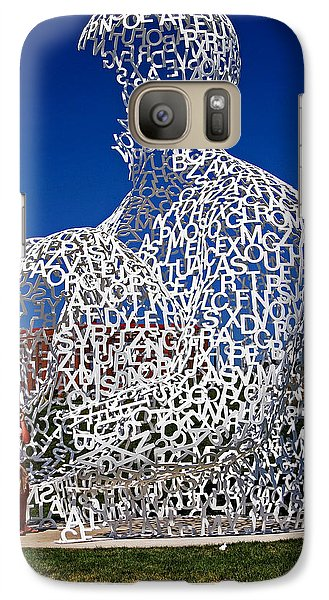 Galaxy Case featuring the photograph Nomade In Iowa by Farol Tomson