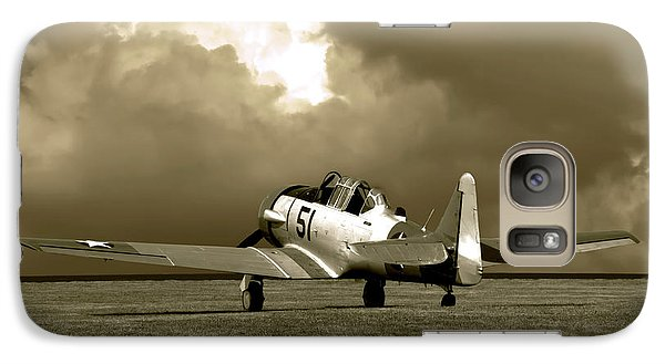 Galaxy Case featuring the photograph North American T6 by Tim McCullough