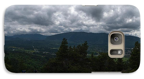 Galaxy Case featuring the photograph North Bend Washington Panorama by Joshua House