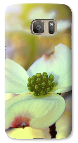 Galaxy Case featuring the painting North Carolina Dogwood State Flower by Gray  Artus