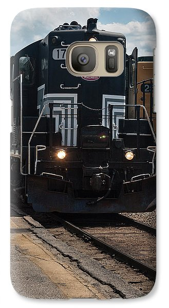 Galaxy Case featuring the photograph Conway Scenic Railroad - New Hampshire by Suzanne Gaff