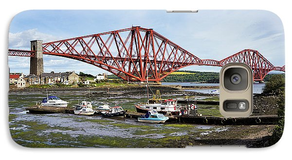 Galaxy Case featuring the photograph North Queensferry by Jeremy Lavender Photography
